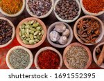 Indian Spices Collection  Dried ...