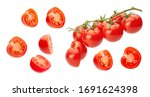 Cherry Tomatoes. Pieces Of...