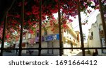 tunisian cityscape with... | Shutterstock . vector #1691664412