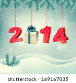 happy new year 2014  new year... | Shutterstock . vector #169167035