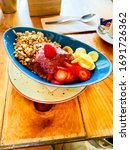 Small photo of Acai prepared with love and care .healthy and unbeatable breakfast.