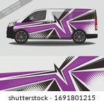 Wrap Car Decal Design Vector ...