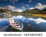 Boats On Loch Leven  Glencoe...