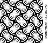 seamless geometric pattern ... | Shutterstock .eps vector #169182392
