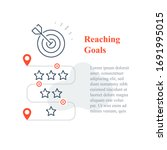 competition reward concept ... | Shutterstock .eps vector #1691995015
