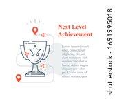 competition reward concept ... | Shutterstock .eps vector #1691995018