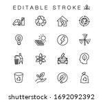 alternative energy sources... | Shutterstock .eps vector #1692092392
