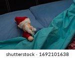 Santa Claus Sleeps In Bed...