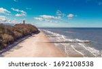 Beach At Polish Seaside  Bird\'...