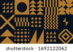 pattern square tiles. graphic... | Shutterstock .eps vector #1692122062