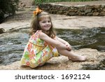 happy little girl | Shutterstock . vector #1692124