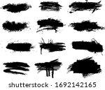 ink splashes stencil   vector... | Shutterstock .eps vector #1692142165