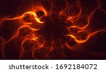 3d Rendering Abstract Fractal...