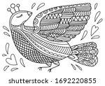 Fantastic Bird Coloring Book...