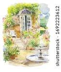 Beautiful Village Garden With...
