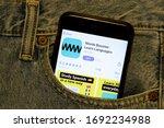 los angeles  california  usa  ... | Shutterstock . vector #1692234988