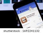 los angeles  california  usa  ... | Shutterstock . vector #1692241132