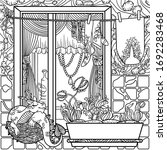 Coloring Page For Adults  With...