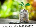 Saving Money Concept For...