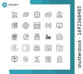 user interface pack of 25 basic ...   Shutterstock .eps vector #1692368485