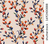 hand drawn dilicate flower... | Shutterstock .eps vector #1692400888