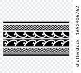 tattoo arm band tattoo hand...   Shutterstock .eps vector #1692406762
