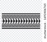 tattoo arm band tattoo hand...   Shutterstock .eps vector #1692406765