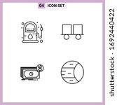 line pack of 4 universal... | Shutterstock .eps vector #1692440422