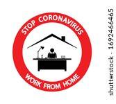 stop coronavirus 2019 ncov....   Shutterstock .eps vector #1692466465