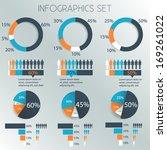 infographics design elements...   Shutterstock .eps vector #169261022