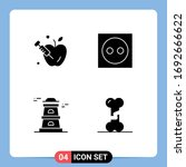 4 Creative Icons Modern Signs...