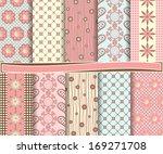 abstract vector set of... | Shutterstock .eps vector #169271708