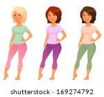 cute cartoon illustration of a...   Shutterstock .eps vector #169274792