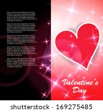 valentine day background. vector | Shutterstock .eps vector #169275485