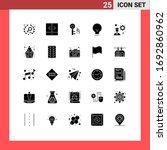 pack of 25 modern solid glyphs...