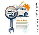 the diagnostic station detects... | Shutterstock . vector #1692918175