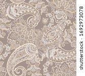 paisley seamless pattern.... | Shutterstock . vector #1692973078