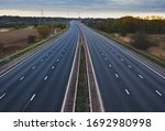 An Empty Stretch Of The M56...