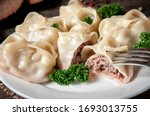 Stuffed Dumplings  Manti Of...