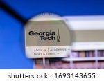 los angeles  california  usa  ... | Shutterstock . vector #1693143655