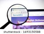 los angeles  california  usa  ... | Shutterstock . vector #1693150588