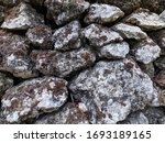 Small photo of Missy white stacked stone background