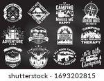 set of outdoor adventure quotes ...   Shutterstock .eps vector #1693202815