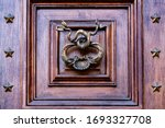 Iron Door Handle With...