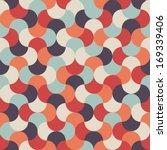 seamless vector mosaic... | Shutterstock .eps vector #169339406