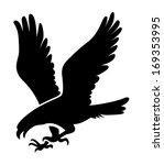 eagle symbol  emblem design ... | Shutterstock .eps vector #169353995