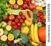 background food fruits and... | Shutterstock . vector #1693630558