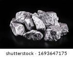 Piece Of Silver Or Platinum On...
