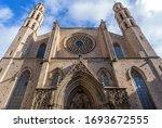 Basilica Of Santa Maria Del Mar ...
