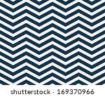 navy blue  and white zigzag... | Shutterstock . vector #169370966